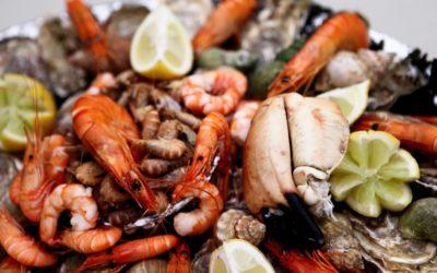Plateau de fruits de mer revu par le chef Baudic